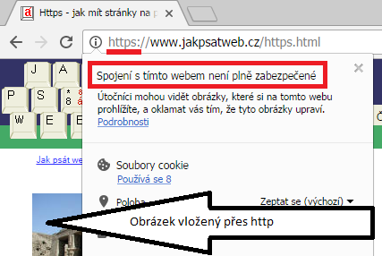 kompromitované https ve Chrome