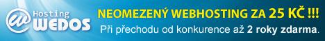 Nejspolehlivější levný hosting v ČR